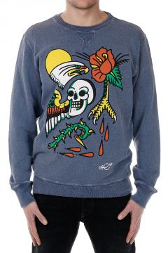 S-JOE-AS Graffiti Printed Sweatshirt