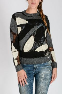 Mohair Blend M-CAMIL Sheer Sweater