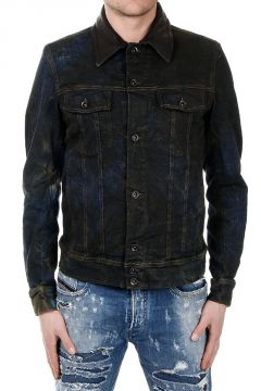 Giubbotto D-JIM in Denim Stretch