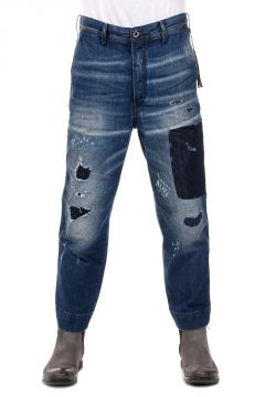 Jeans CARROT-CHINO In Denim 17 cm