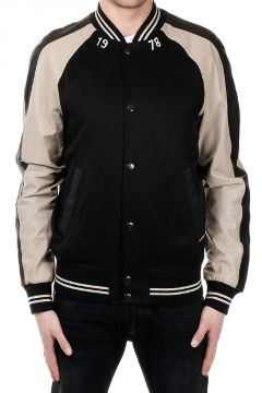 L-EDDIE Two Coloured Leather Jacket