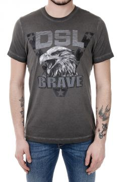 T-shirt T-JOE-BH in Cotone con Stampa