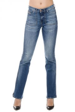Jeans SANDYB-PATCH L.32 in Denim Stretch 24 cm