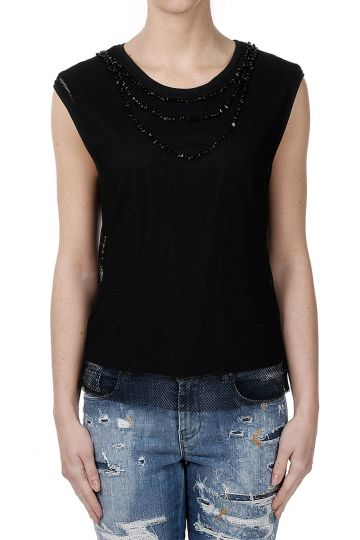 Embroidered T-ELECTA Top