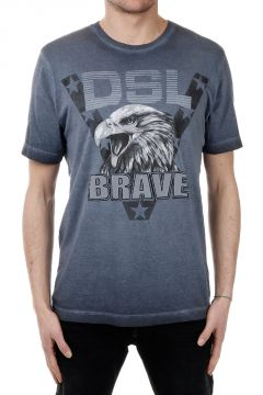 T-shirt T-JOE-BH in Jersey di Cotone