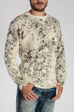 Cotton Blend ME-S-JOERAG-S Sweatshirt