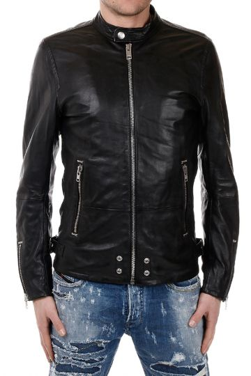 L-EDG Leather Biker Jacket