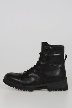 Leather D-KLOSURE II Army Boots