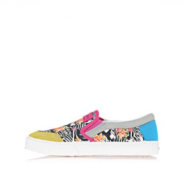 Floral Printed SLIP ON HIBISCUS sneakers