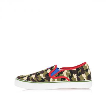 CAMOUFLAGE SLIP ON Sneakers