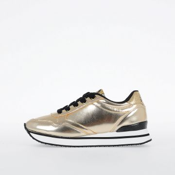 Faux Leather SN LOW 1 METALLIC YO Sneakers