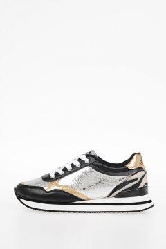 Sneakers SN LOW 4 BLACK YO in Pelle