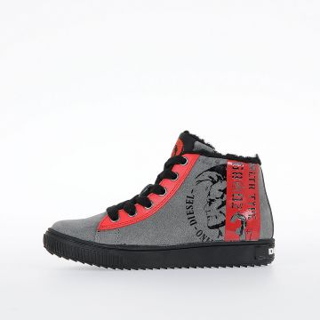 Leather SN MID 8 MOHICAN FUR CH Sneakers