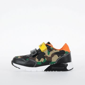 Sneakers SN LOW 9 STRAP CAMO CH in Pelle
