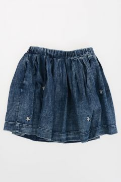 Embroidery GIUNIA Denim Skirt