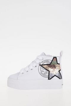 Sequined SN MID 13 PATCH CH Sneakers