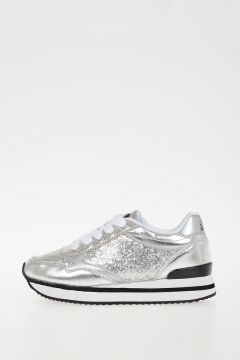 Leather & Glitter SN LOW 1 METALLIC YO Sneakers