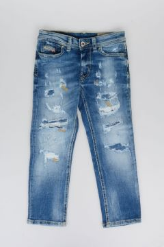 Jeans REEN in Denim Stretch Destroyed 12 cm