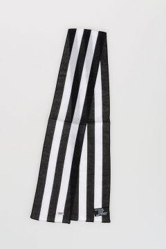 Cotton Striped Foulard