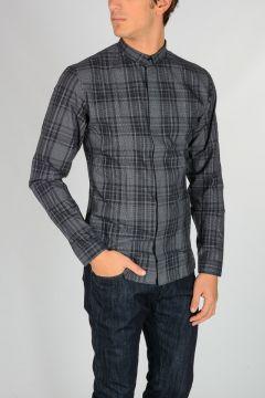 Camicia in Cotone a Quadri