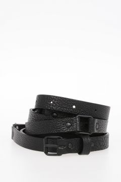 BOUTIQUE 15 mm Leather Belt