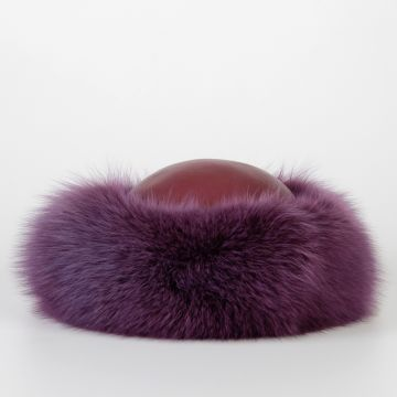Leather & Fur Hat