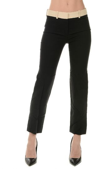 Silk Wool Blend Pants