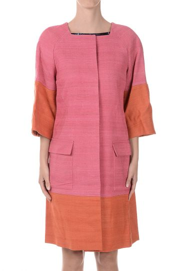 Silk and Linen Coat