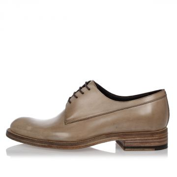 Leather DERBY Laced Shoes