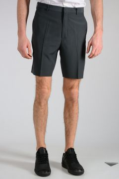 Mohair and Virgin Wool Shorts