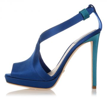 Satin LIGNE Heel Shoes
