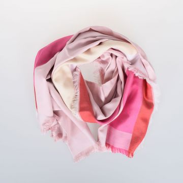 140 x 140 cm Silk & Cotton Shawl