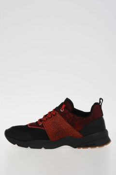 Leather Fabric Sneakers