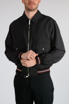 Virgin Wool Bomber Jacket