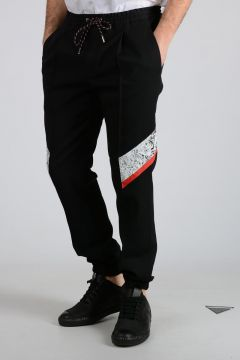 Pantaloni Jogger in Lana