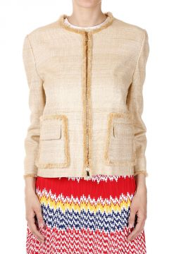 Silk & Linen Short Jacket