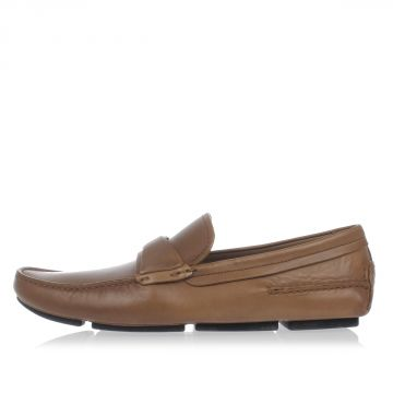 Mocassino slip on HAVANE in Pelle