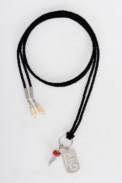 Sikver Crystal Necklace