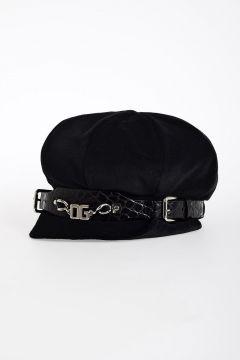 Velvet Beanie Hat