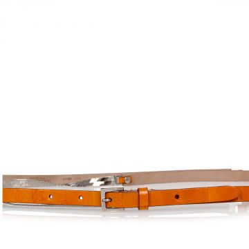 Cintura in Pelle e Metallo 10 mm