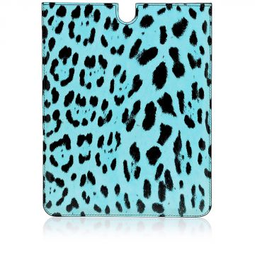 Custodia per Tablet in Pelle Stampa Leopardo