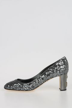 Pumps JACKIE with Sequins applied
