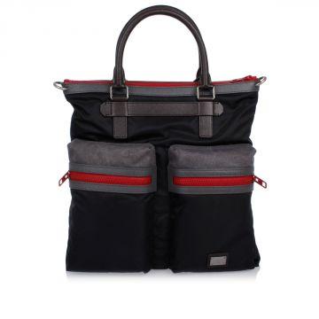 Nylon Canvas Shopping Bag