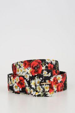 40mm Flowered Belt