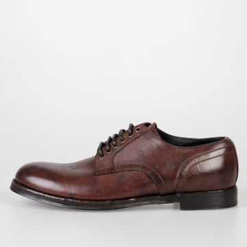 Leather GIORGIONE STONE WASH Derby Shoes