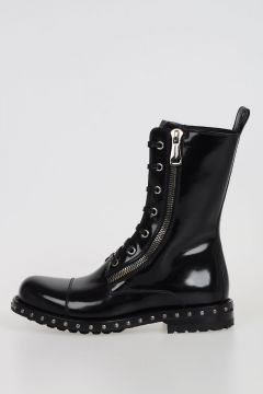 Combat Boots SAN PIETRO in Leather