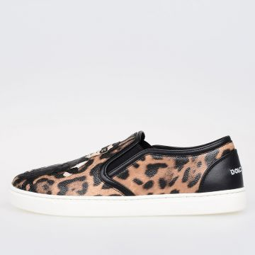 LONDON Leather Slip on Sneakers