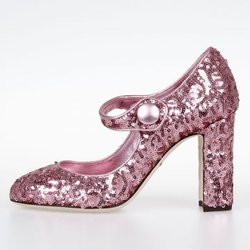Pumps VALLY with Sequins applied