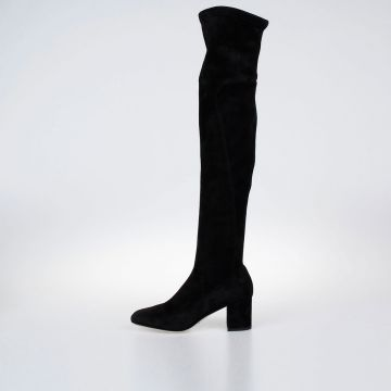 Suede Knee High JACKIE Boots