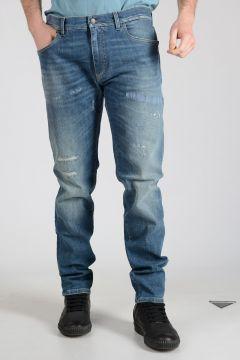 18cm Stretch Cotton Jeans